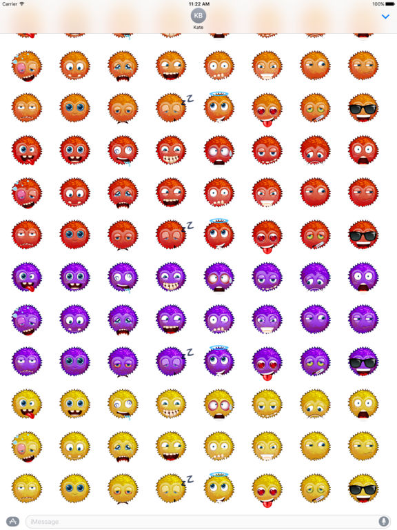Funny emoticons - Stickers screenshot 10