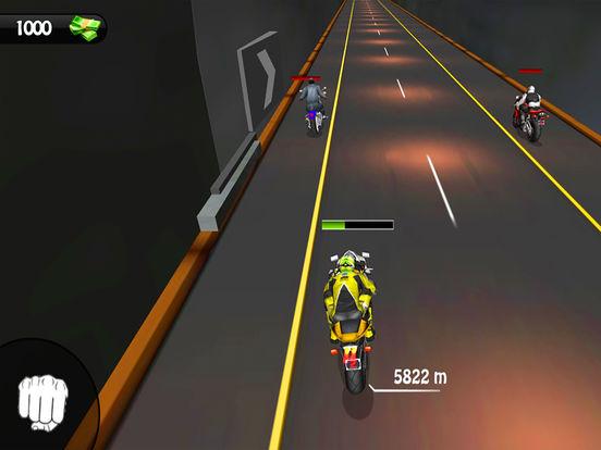 Heavy Bike Rider : 3D Fighting Game screenshot 8