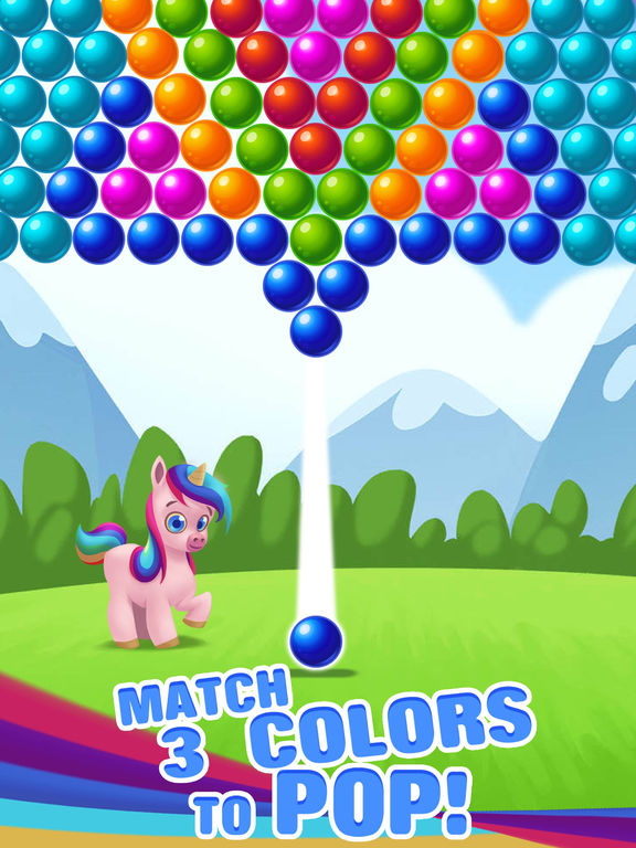 Bubble Shooter Unicorn screenshot 8