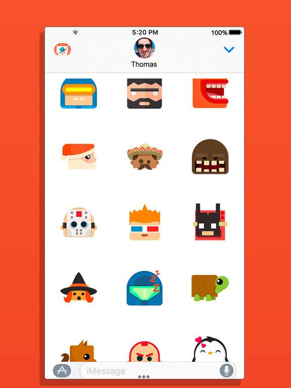 BoomBit iMessage Stickers screenshot 10