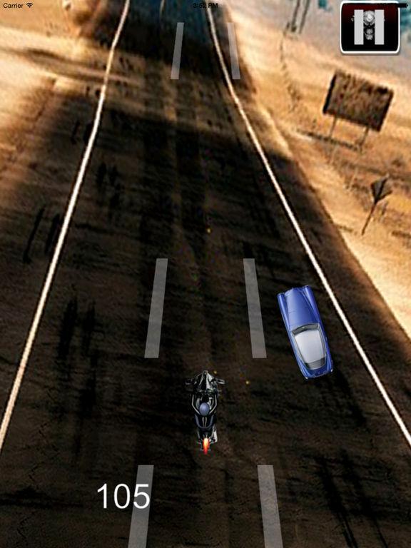 A Speed Endless Biker - Simulator Motorcycle Driver Game screenshot 10