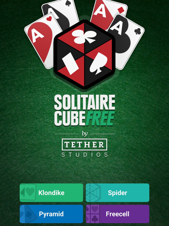 Solitaire Cube Free - Classic, Spider and Freecell screenshot 6