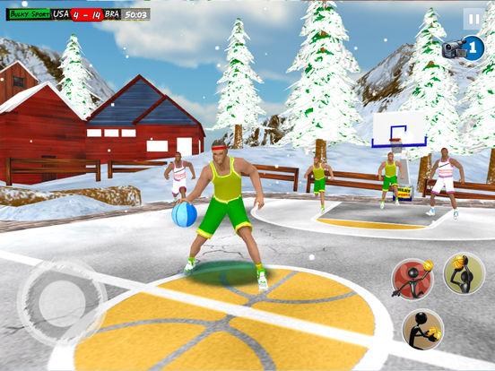 Play Basketball JAM 2017 Christmas Holidays Ed. 3D screenshot 7