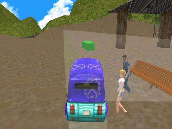 Mountain Ricksha Drive : 3D New Simulation 2016 screenshot 8