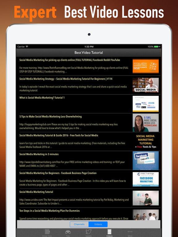 Social Media Marketing 101- Tips and Tutorial screenshot 7