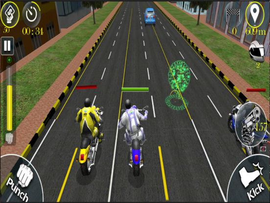 Bike Stunt Fight - Attack Race screenshot 6