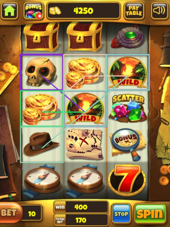 Lost Treasure Slots screenshot 10