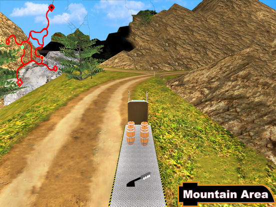 Euro Off-Road Trailer : Heavy Hill Climb-er Cargo screenshot 4