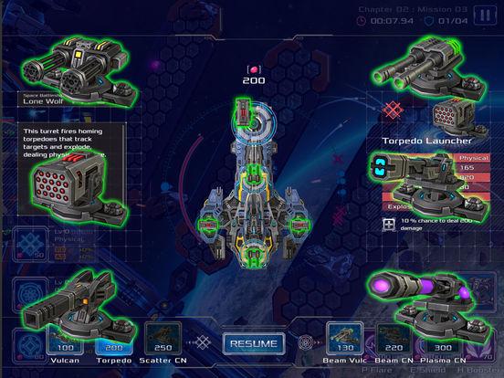 Battleship Lonewolf: Space Shooter screenshot 8