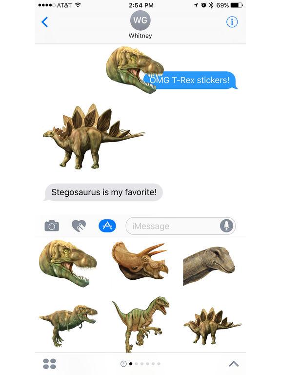 Dinosaur Stickers from Smithsonian Institution screenshot 4