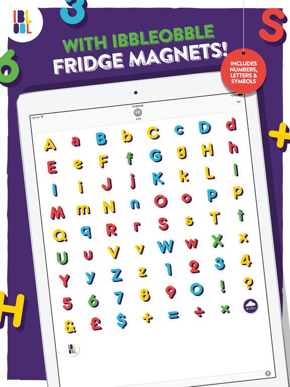Ibbleobble Fridge Magnets for iMessage screenshot 5