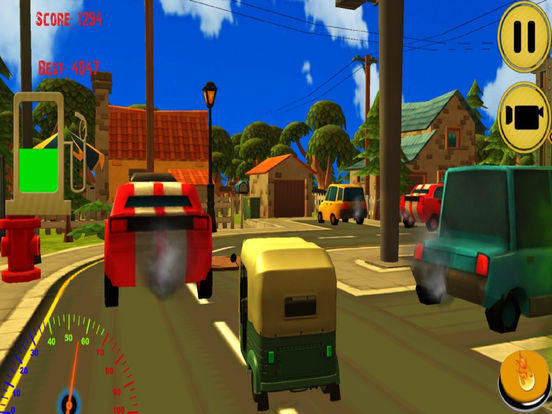 City Auto Rickshaw Drive screenshot 5