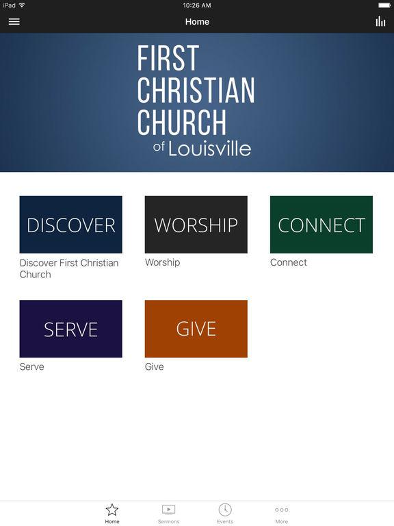 First Christian Louisville screenshot 4