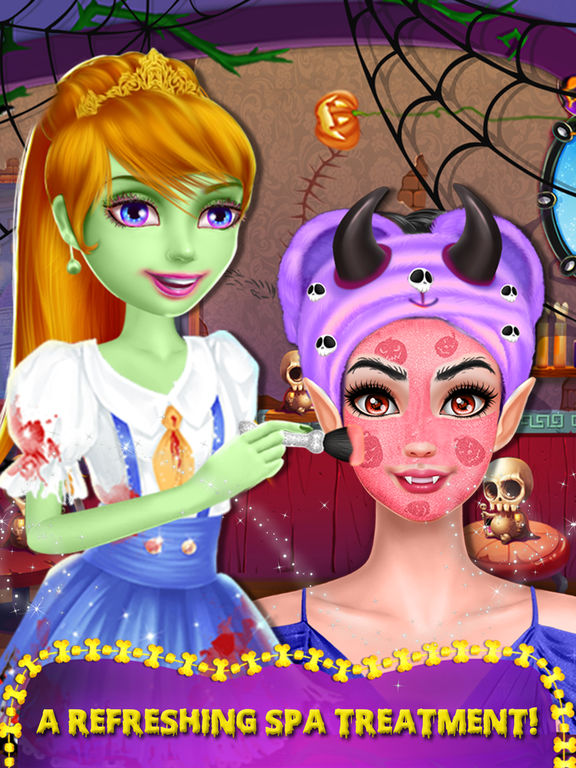 Halloween Ghost Girl Makeover screenshot 8
