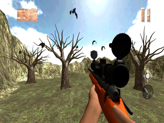 Forest Crow Hunting : 3D Birds Sniper Kill Shot screenshot 7