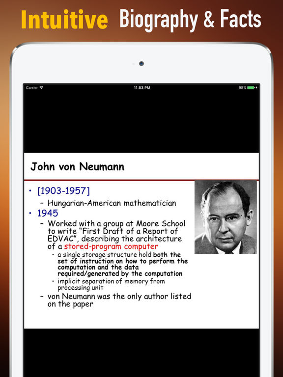 Biography and Quotes for John von Neumann screenshot 6