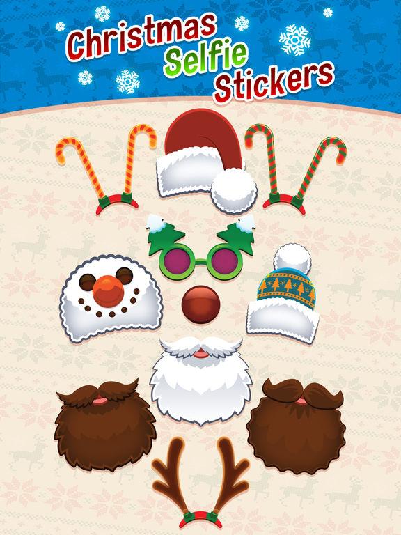 Christmas Selfie Stickers screenshot 2