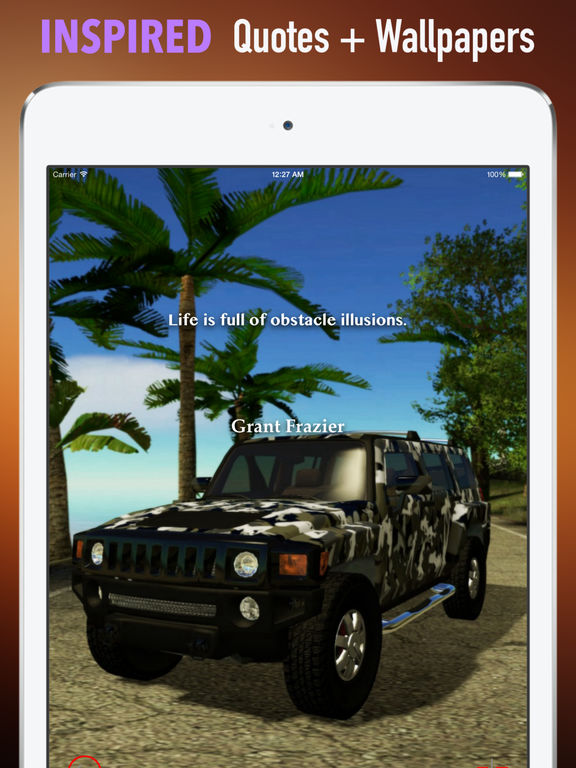 Hummer Wallpapers HD:Quotes with Art Pictures screenshot 10