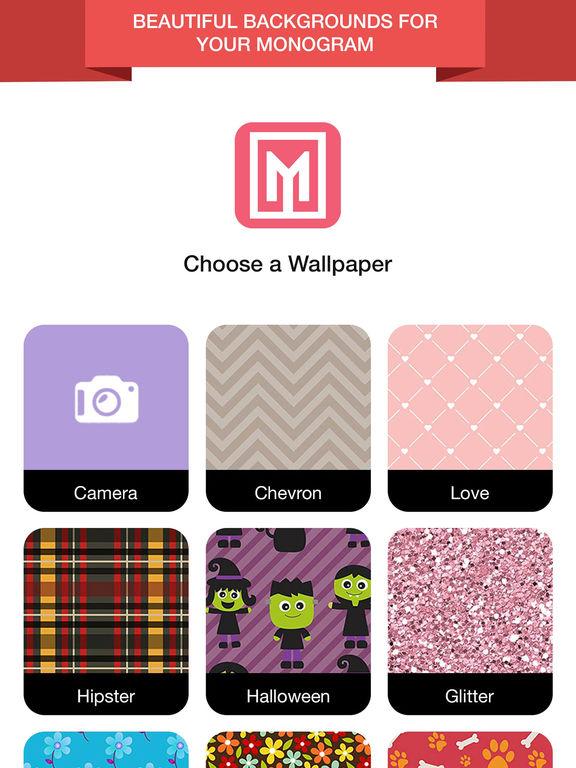 Wallpaper Maker- Make Monogram | Apps