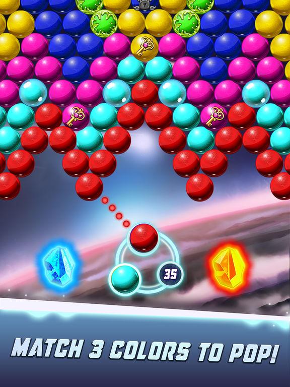 Bubble Shooter Galaxy Explore screenshot 10