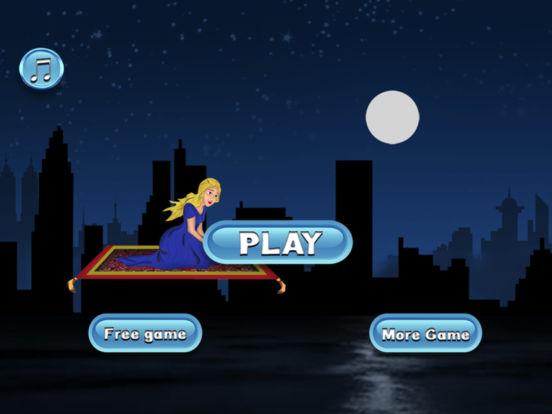 Magical Princess Flying Race Pro - racing game screenshot 6