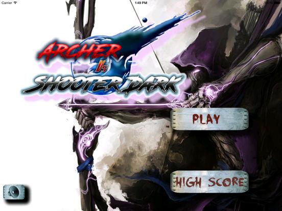 Archer Vs Shooter Dark - Best Archery Tournament screenshot 6