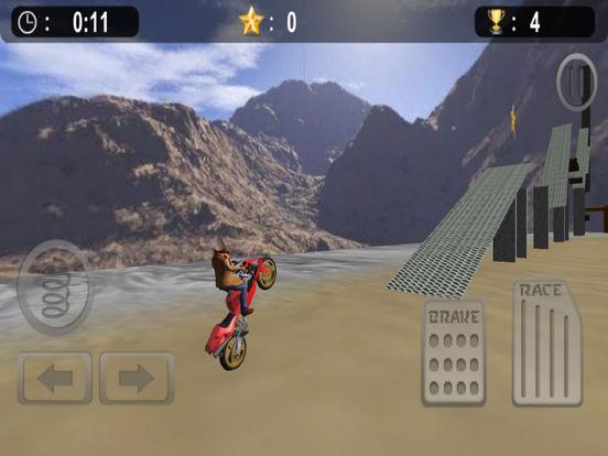 Extreme Bike Stunt : 3D Crazy Ride-r Free screenshot 8
