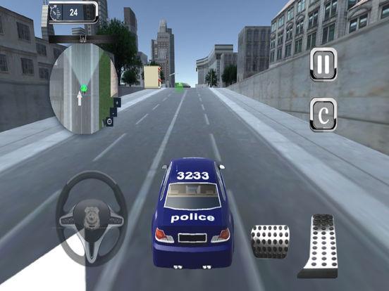 Highway Police Parking Challenge: 3D screenshot 6