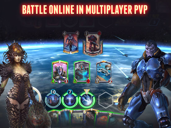 Star Crusade™ CCG screenshot 10