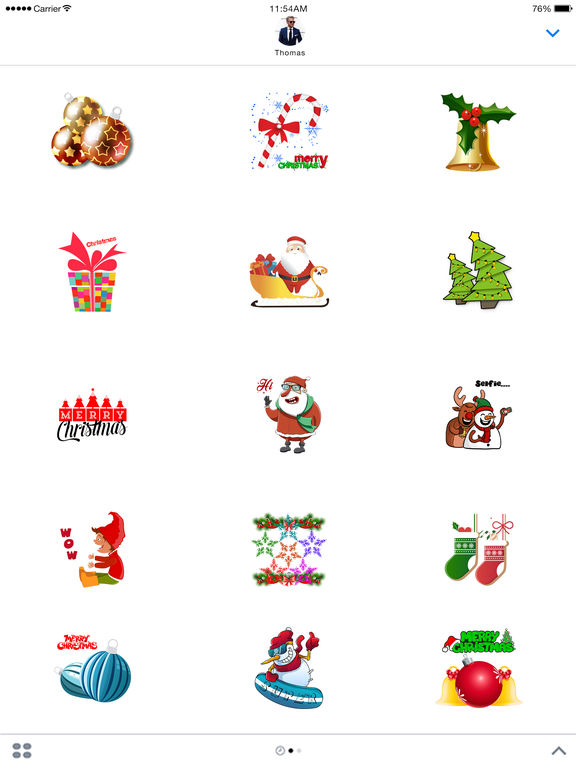 Christmas Animated Sticker screenshot 4
