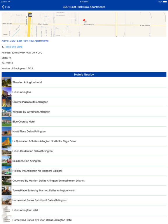 i4fortworth - Fort Worth Hotels & Yellow Pages screenshot 7