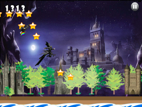 A Dark Wizard Jump - Magic With Air Race screenshot 8