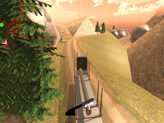 Off-Road Cargo Trailer : Heavy Vehicle Tran-sport screenshot 5
