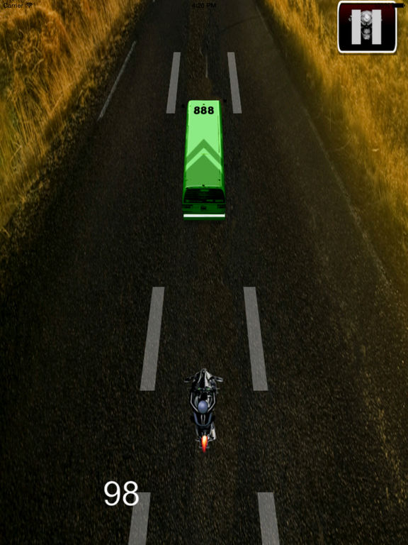 A Race Motorcycle Driver Pro - Awesome Highway Rider Game screenshot 9