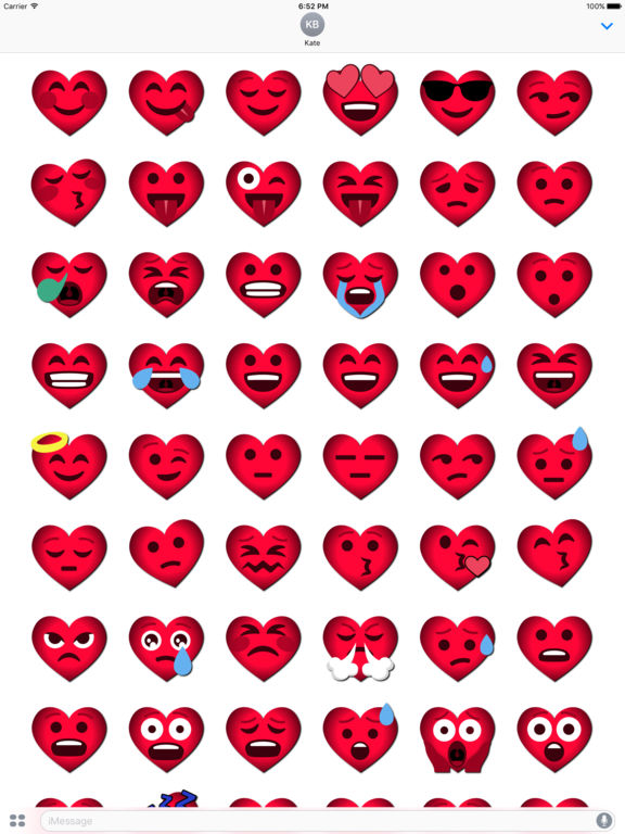Love Emoji • Stickers screenshot 7