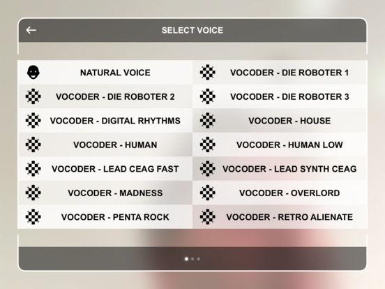 Vocoder Booth screenshot 4