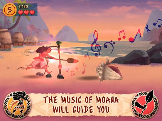 Moana: Rhythm Run screenshot 6