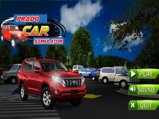 Prado car Simulation : drive 3D game screenshot 4