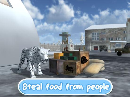 Wild Snow Leopard: Animal Simulator Full screenshot 8