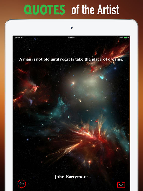 Fractal Cosmos Wallpapers HD- Quotes and Art screenshot 9