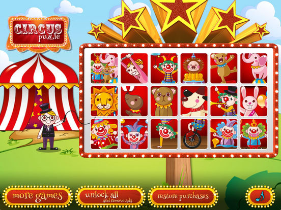 Circus puzzle for preschoolers (Premium) screenshot 6