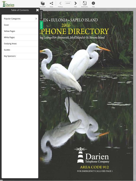 Darien Directory screenshot 7
