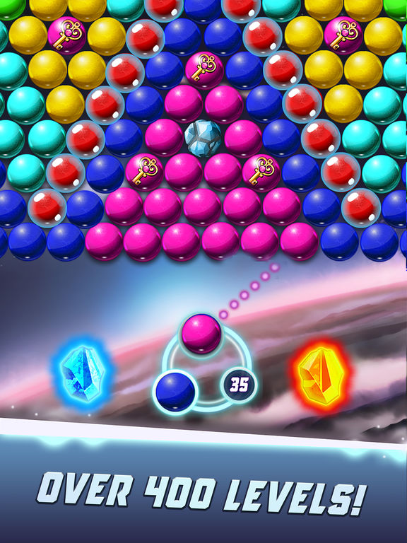 Bubble Shooter Galaxy Explore screenshot 8