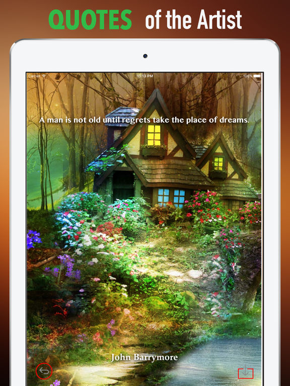 Fairyland Wallpapers HD- Quotes and Art Pictures screenshot 9