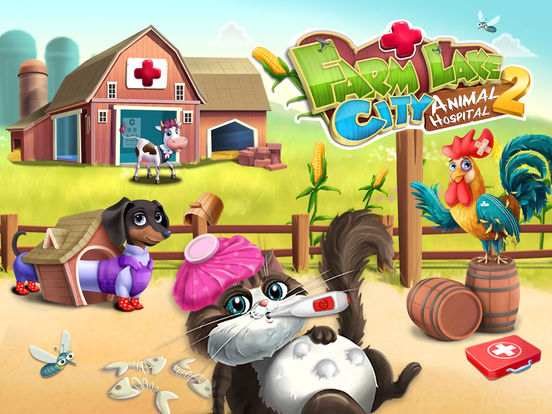 Farm Lake City Hospital 2 Animal Doctor & Pet Vet screenshot 6