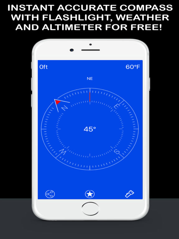 Compass Now - Digital Magnetic True North Heading screenshot 2