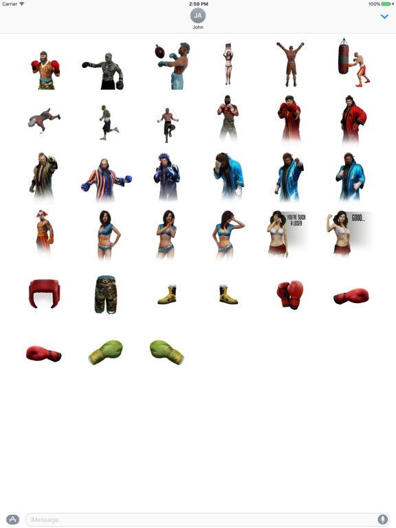 Real Boxing 2 Stickers screenshot 6