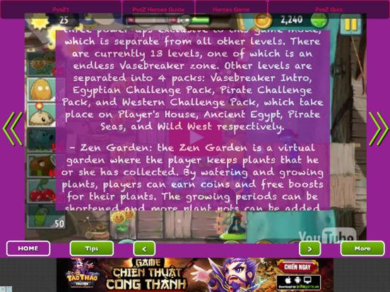 Full Guide - Plants vs. Zombies Heroes + 2 + 1 Pro screenshot 6