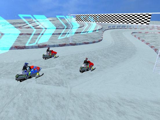 Snow Bike Rider : Racing Fever screenshot 5