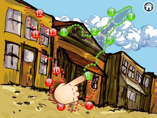 Wild West - Connect Dots for kids (Premium) screenshot 8